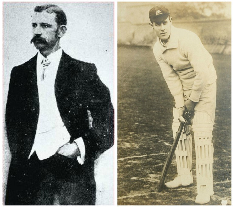 James J Gilitan | © Unknown / WikiCommons // Victor Trumper | © JJ Harrison / WikiCommons