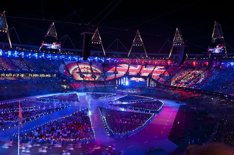 Opening ceremony, London 2012| Philip Pryke /Wikicommons