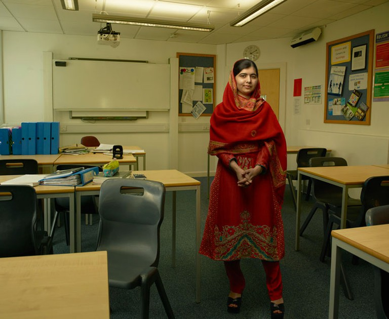 Malala Yousafzai, Birmingham, England, 2015 © Annie Leibovitz from WOMEN: New Portraits, commissioned by UBS