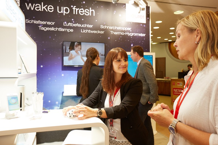 IFA Innovations Media Briefing 2016: Beurer Booth/© IFA