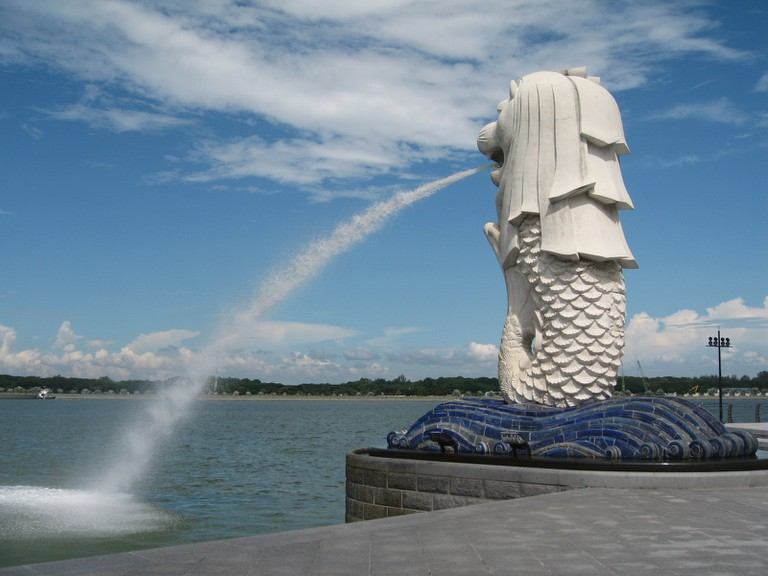 Merlion ©Terence Ong/WikiCommons