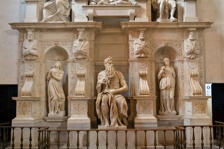 Michelangelo's Moses | © Livia Hengel