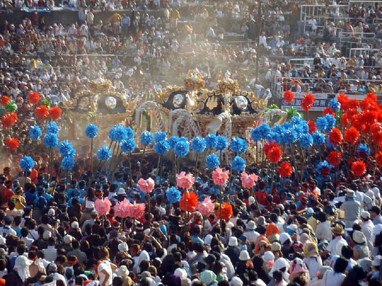 The Nada no Kenka Matsuri or Fighting Festival in Himeji | © Sailco/WikiCommons