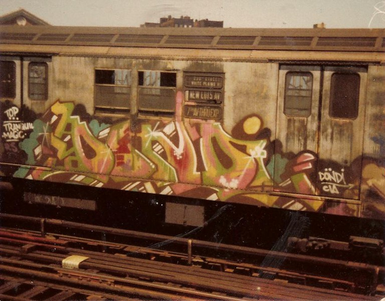 Dondi 1979 (IRT express train)   JJ & Special K / Flickr