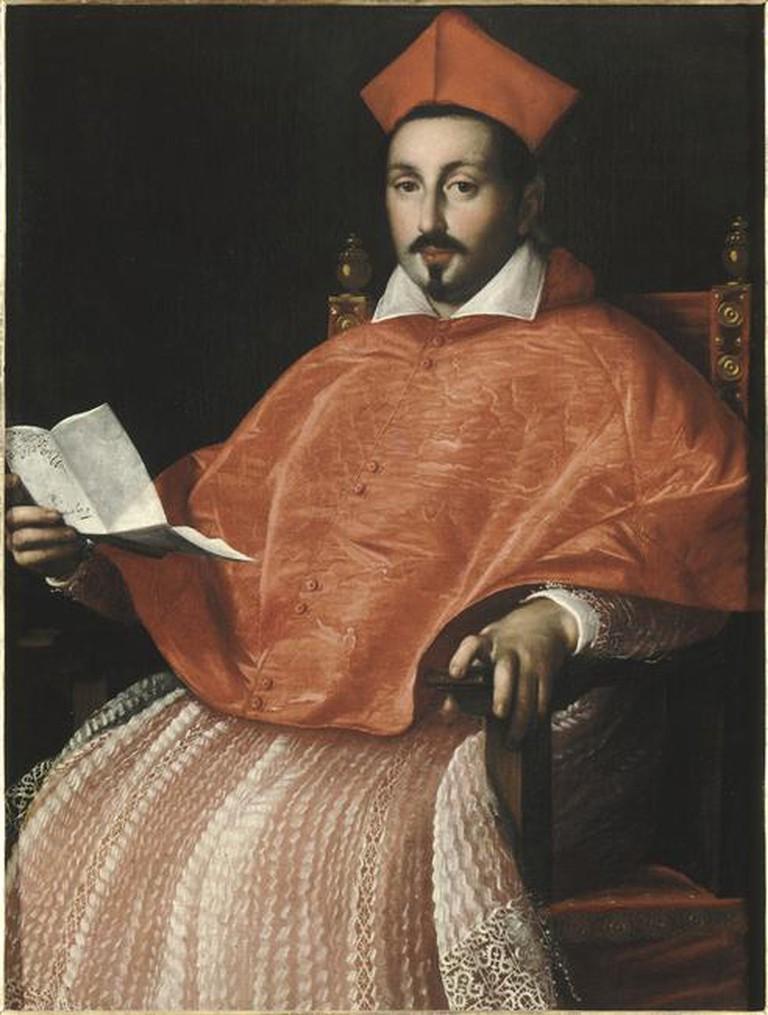 Scipione Borghese by Ottavio Leoni Retrato   © WikiCommons