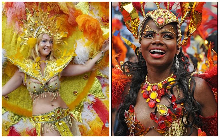 Notting Hill carnival 2006|©S Pakhrin/Flickr / Notting Hill, 2012| ©Rob Schofield/Flickr