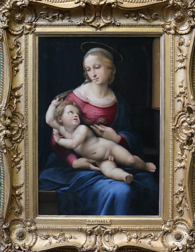 Raphael (Raffaello Sanzio), The Bridgewater Madonna, About 1508 | Courtesy Of Tori Chalmers