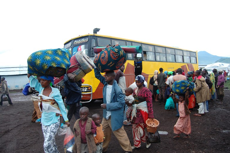DFID-supported camps for refugees from DRC in Uganda | ©Andy Wheatley | WikiCommons