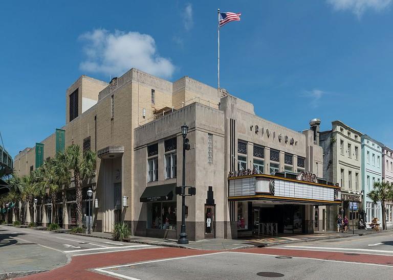 Riviera Theatre, Charleston SC | © DXR/WikiCommons