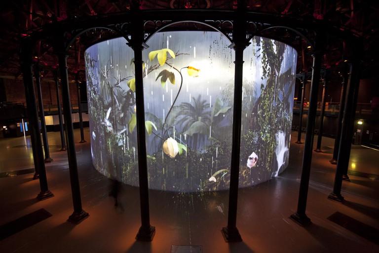 Ron Arad's Curtain Call at the Roundhouse|©Stuart Leech/The Corner Shop