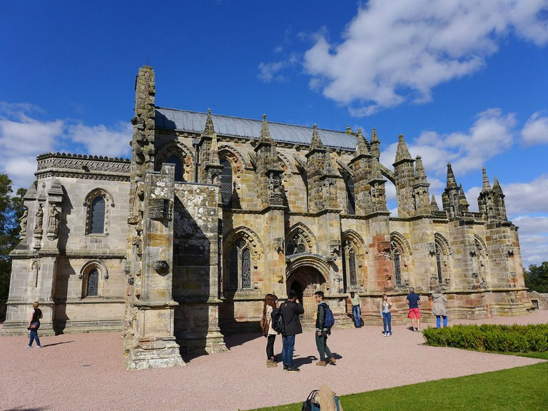 Rosslyn Chapel   © Sabine Perry/WikiCommons