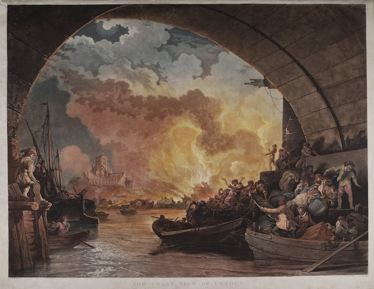 Image courtesy of the Monument to the Great Fire of London