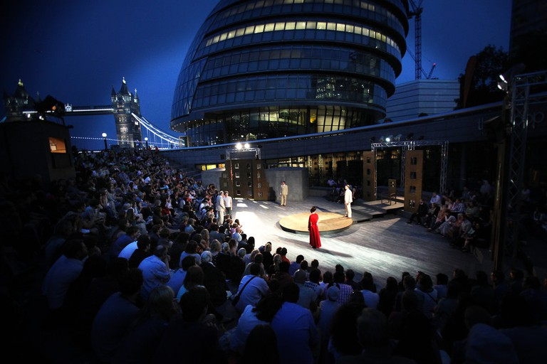 'Oedipus' at The Scoop 2013|Courtesy of More London