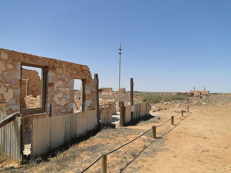 Ruins at Farina © Peterdownunder/WikimediaCommons