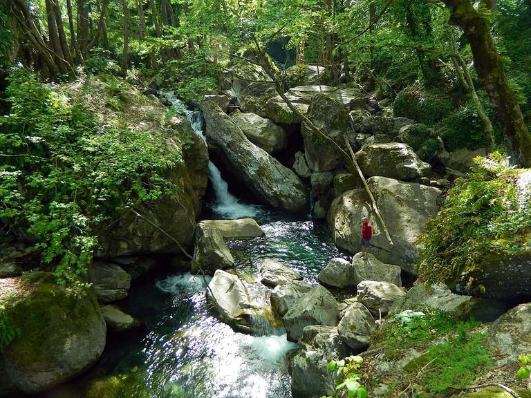 Small waterfall in Pelion| © Neoklis F./WikiCommons