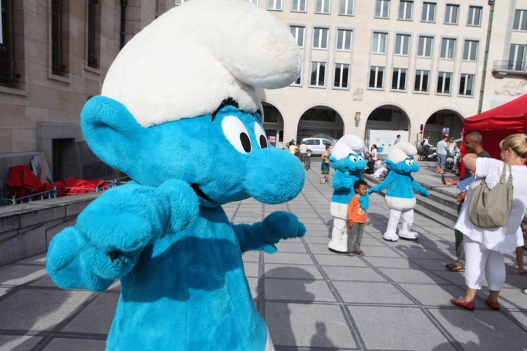 From Friday, September 2nd until Sunday, September 4th, Brussels is promising cartoon enthusiasts a smurfin' good time | © visit.brussels.be