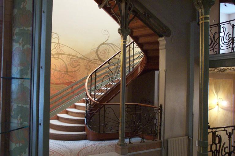 Victor Horta's Hotel Tassel | © Henry Townsend / Wikimedia Commons