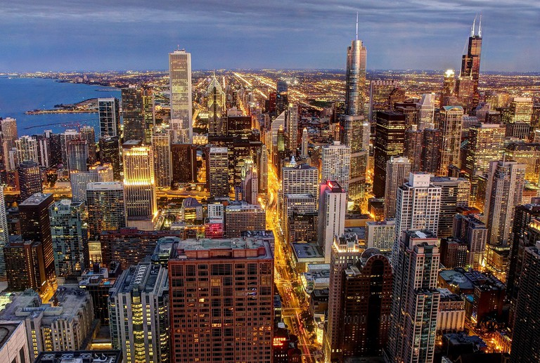 Chicago's Loop, courtesy of Wikipedia