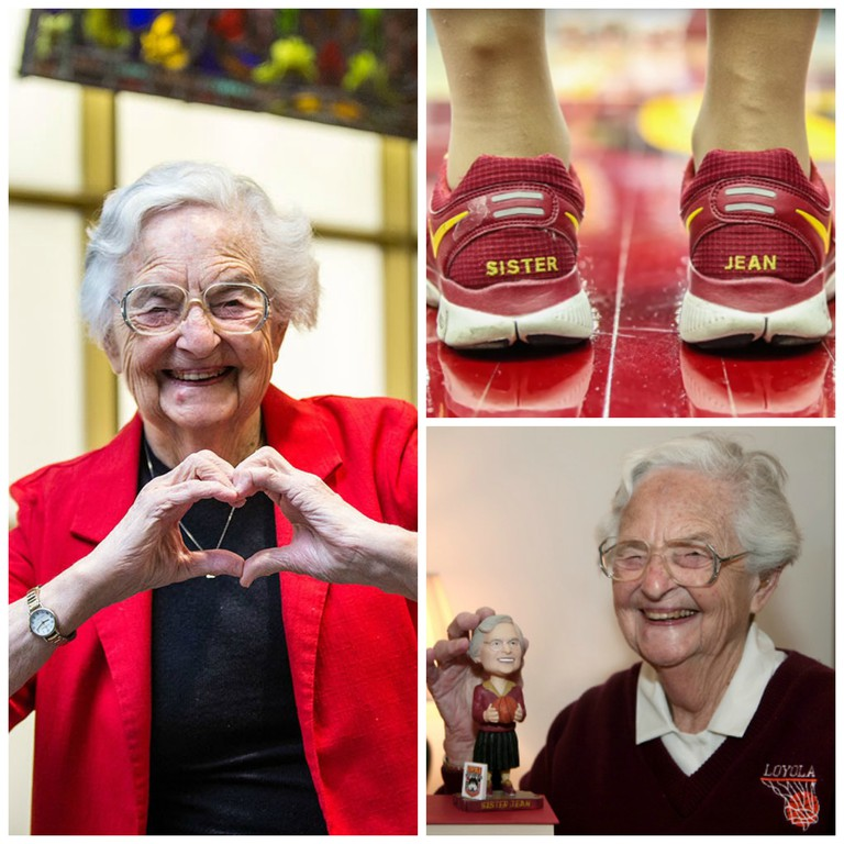 Sister Jean Dolores Schmidt, courtesy of Loyola University Chicago