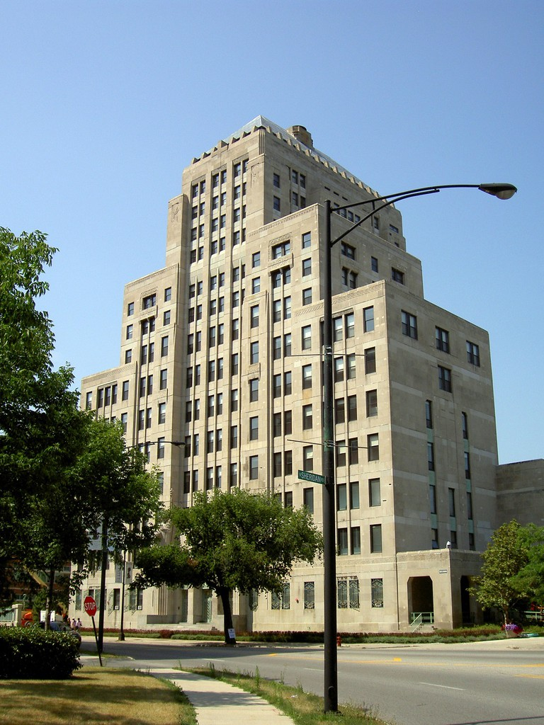 Mundelein Center, courtesy of Wikimedia Commons