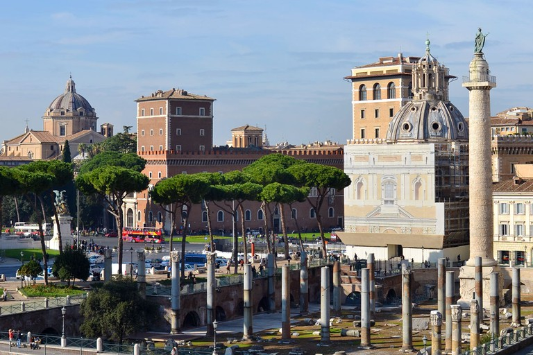 Trajan's Forum and Trajan's Column | © Livia Hengel