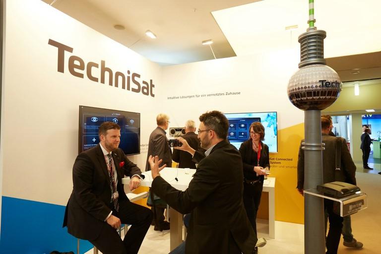 IFA Innovations Media Briefing 2016: TechniSat Booth/© IFA