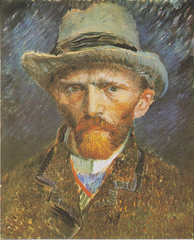 Vincent Van Gogh: Self-Portrait, 1887 | © The Rijksmuseum / Wikicommons