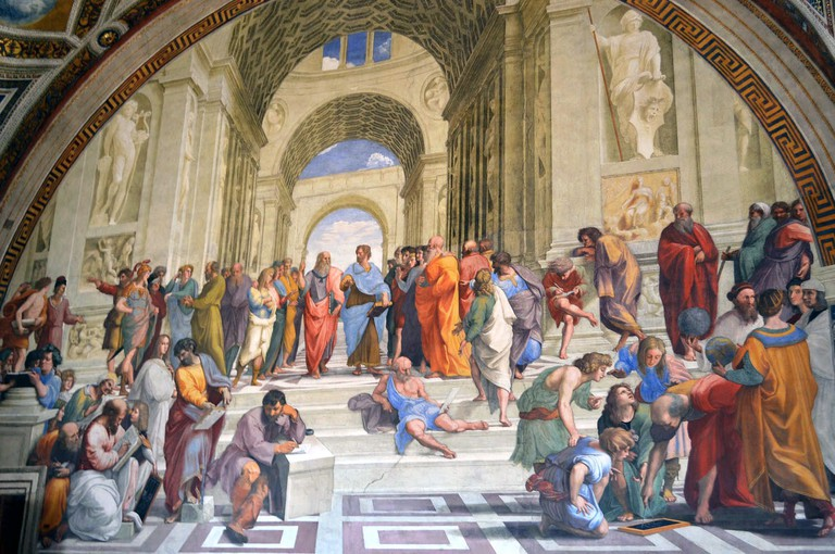 The School of Athens by Raphael | © Livia Hengel