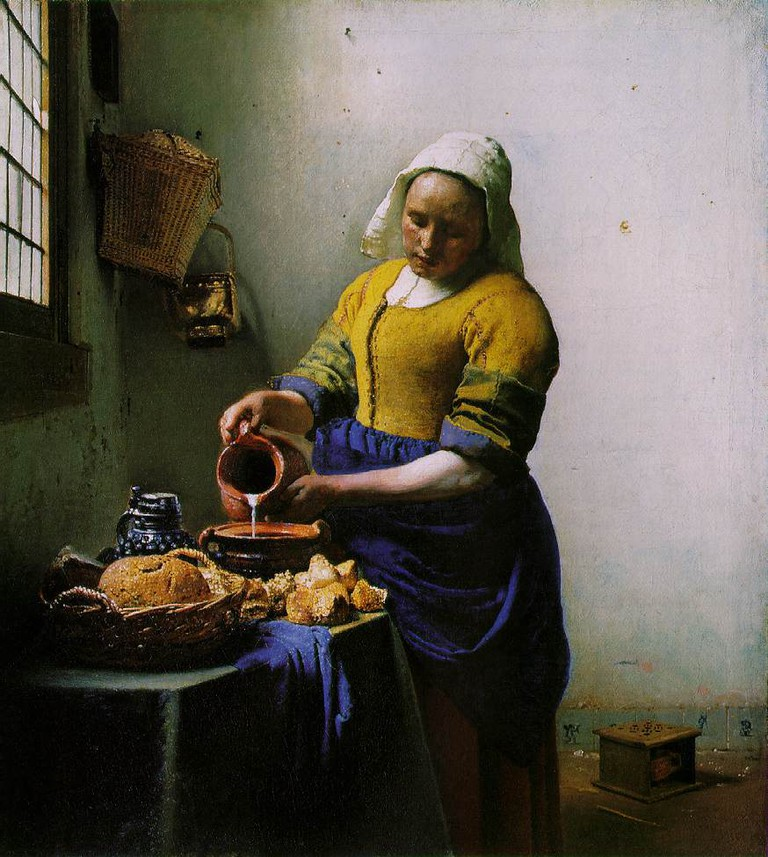 Johannes Vermeer: The Milkmaid, 1660 | © The Rijksmuseum / Wikicommons