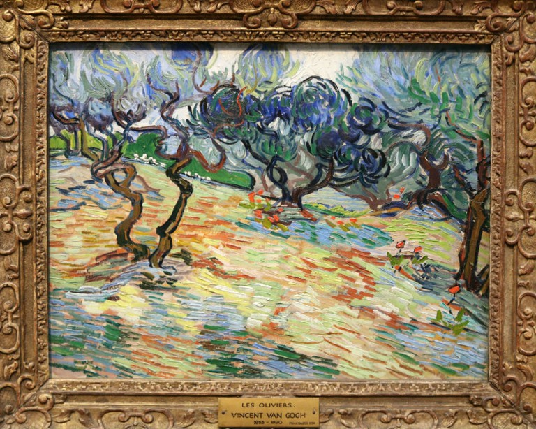 Vincent van Gogh, Olive Trees, 1889 | Courtesy Of Tori Chalmers