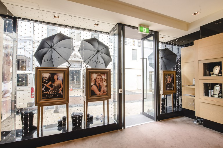 Kailis Pearls - Windows Of The City, 2016. Telstra Perth Fashion Festival.   © Mac1Photography