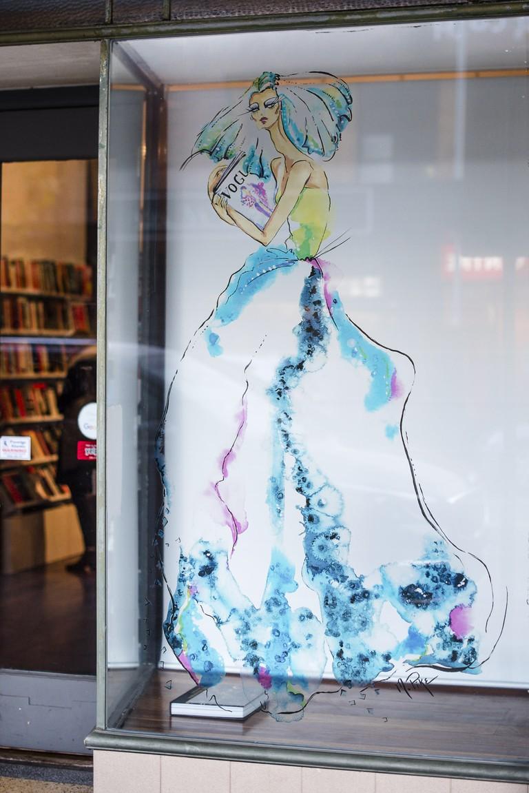 Northside Books - Windows Of The City, 2016. Telstra Perth Fashion Festival.   © Mac1Photography