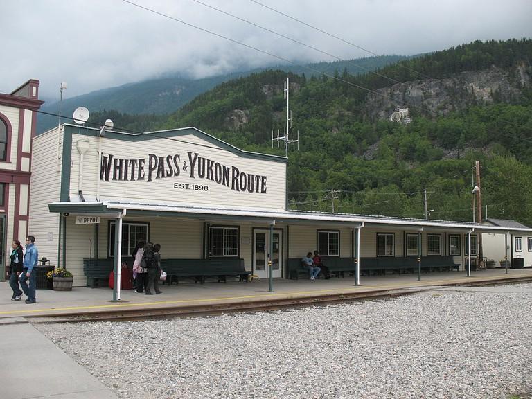 White Pass and Yukon Route | Hans-Jürgen Hübner | Wikicommons