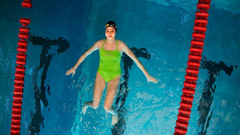 Yusra Mardini, Olympic swimmer |© Laurent Jerry/WikiCommons