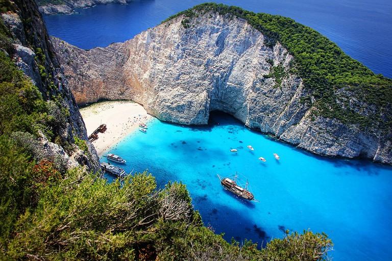 Navagio (Shipwreck) Beach| © Greg Montani/PixaBay