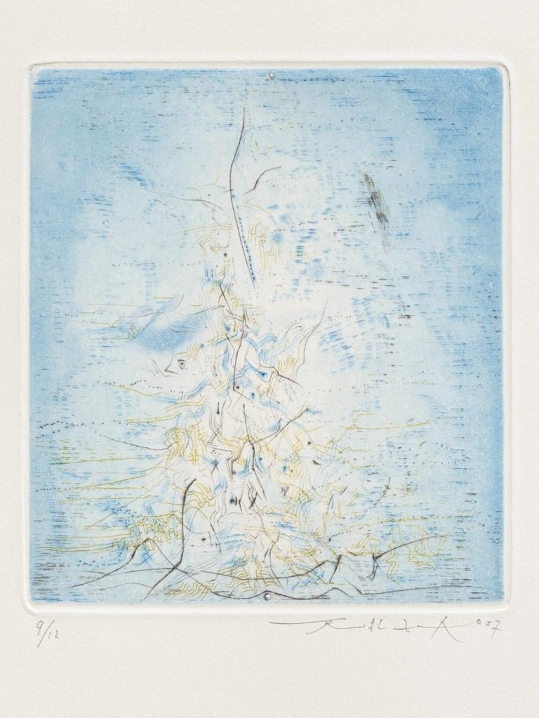Zao Wou-Ki, Untitled for Les compagnons dans le jardin by René Char