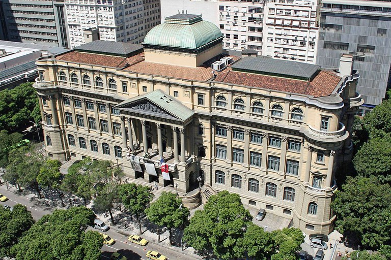 The National Library of Brazil |© Halleypo/WikiCommons