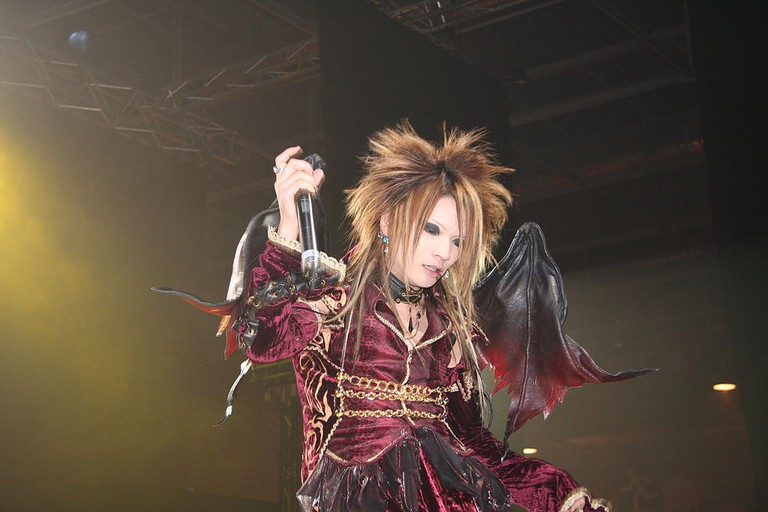 Dio-Distraught Overlord performs at the Japan Expo. Paris, 2005   © Georges Seguin/WikiCommons