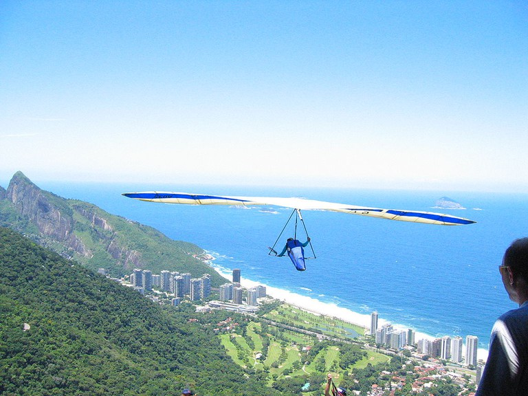 The view from Pedra Bonita which is also the base for handgliding | © Jordan Fischer/WikiCommons