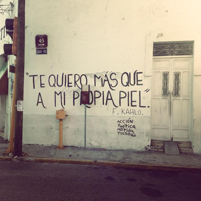 Acción Poética, Mérida | Courtesy of author