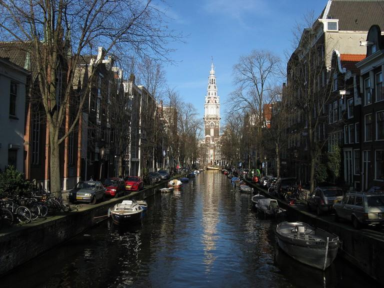 De Zuiderkerk's steeple | © Dohduhdah / WikiCommons