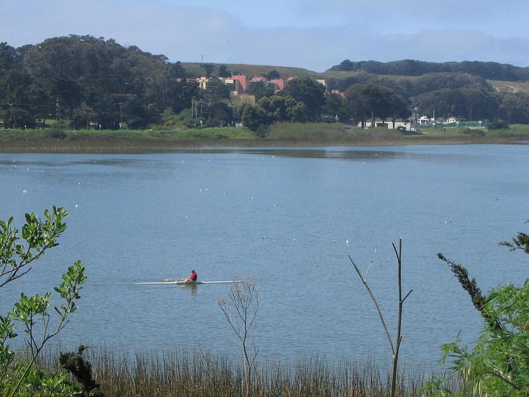 Lake Merced © Isabell Schulz/Wikipedia