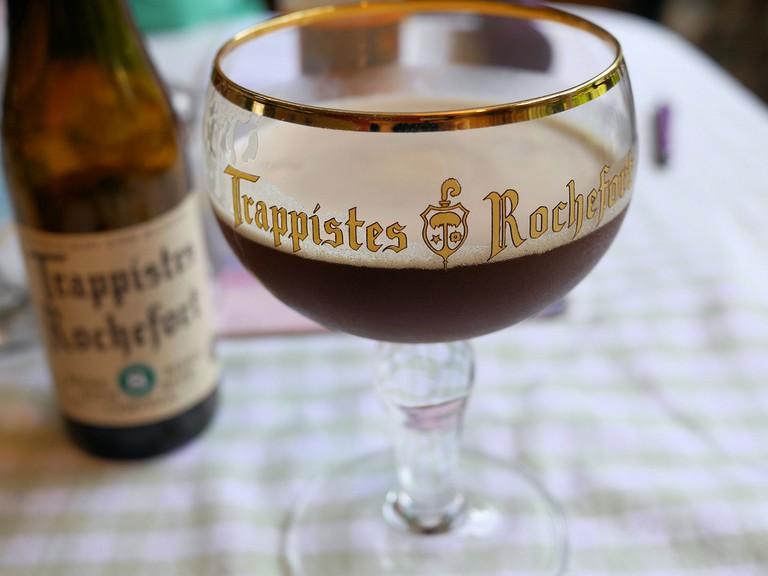 Rochefort Trappist glass | © Smabs Sputzer / Flickr