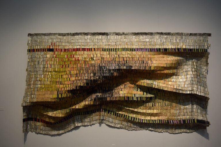 El Anatsui © Matthew Bellamare/Flickr