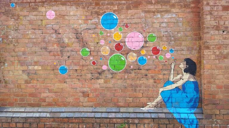 Street art, Teneriffe, Brisbane   © Rae Allen / Flickr