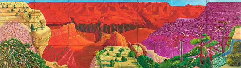 The Grand Canyon, 1998 by David Hockney/Paul G. Allen Collection