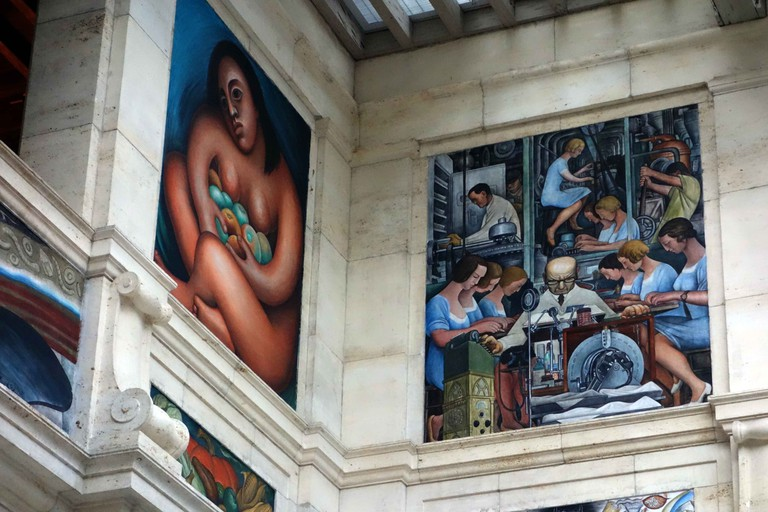 Diego Rivera, Detroit Institute of Arts | © Mike Steele/Flickr