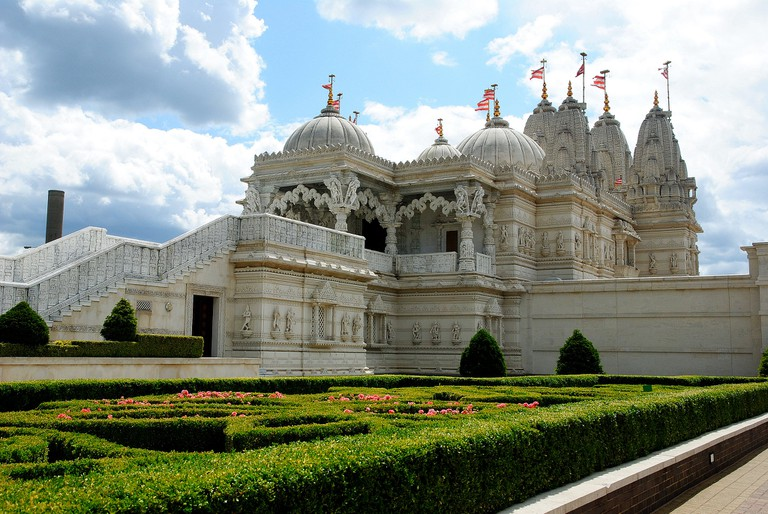 BAPS Shri Swaminarayan Mandir, Neasden|©Knut Hellesvik/Flickr
