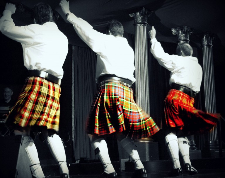 Kilted Scottsmen | © Kate Williams/Flickr