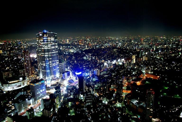 Roppongi nightscape | © electricnude/Flickr